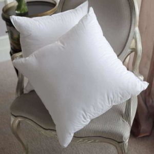 Hot Sales Cotton Fabric Decorative Pillow Feather Cushion pictures & photos