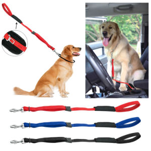 Soft Padded Handle Nylon Dog Car Travel Seat Belt pictures & photos