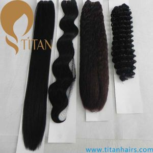 Synthetic Hair Weave, Synthetic Hair Weft, Synthetic Hair Weaving pictures & photos