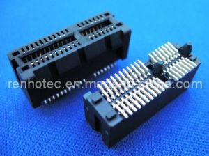 Pcix Card Connector, Edge Card Connector, Pcix Slot (RH-PCIX) pictures & photos