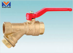 Filter Ball Valve (VT-6141) pictures & photos