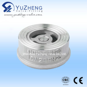 Stainless Steel Wafer Check Valve (H71W) pictures & photos