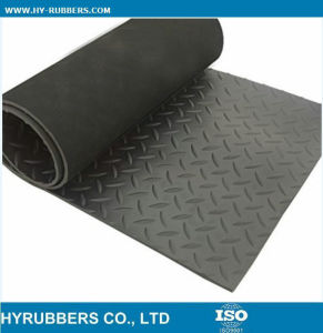 Anti-Slip Diamond Rubber Sheet High Quality pictures & photos