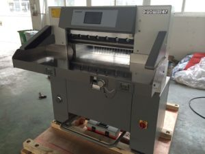 Full Hydraulic Paper Cutter (67ET) pictures & photos