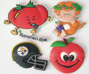 Fashion Fruit Soft PVC Magnet Decoration, Magnet Fridge Sticker pictures & photos