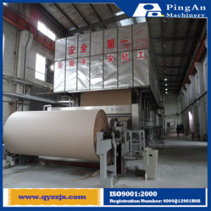 High Speed Cardboard Paper Liner Board Paper Making Machine Price
