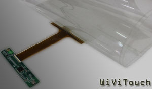 """Transform Your Window Glass Into a Multi Touch Screen, 42""""USB Touch Screen Film"""