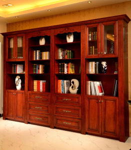 Wooden Bookcase with Separate Style Bookcase Bk-06 pictures & photos