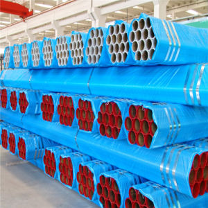 Red Epoxy Powder Coating Welded Fire Sprinkler Steel Pipe pictures & photos