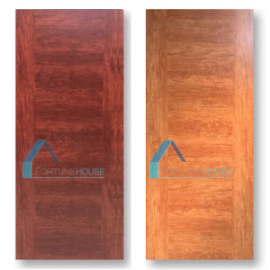 Rock-Bottom Price Flush Flat MDF Melamine Door with High Quality pictures & photos