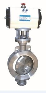 Electric/Pneumatic Triple Offest Wafer Butterfly Valve