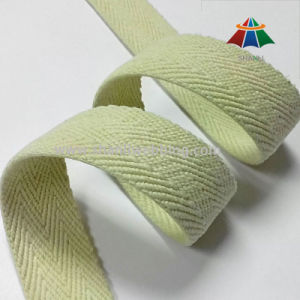 40mm Beige 4 Twill Cotton Webbing Strap pictures & photos