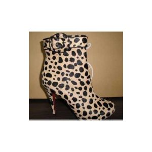 Fashion Women Dress Shoes Leopard Women Boots (HCY02)