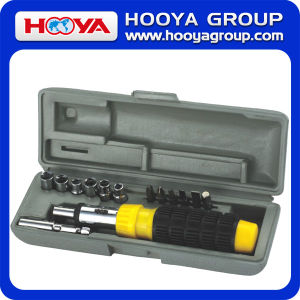 15PCS Homeowner′s Useful Tool Set (TL17204)