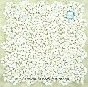 High Quality White Pebble Tile Decoration pictures & photos
