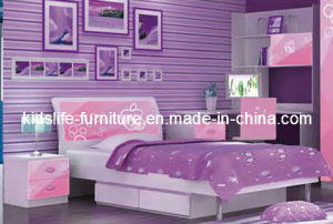 Superb Red Apple Style Furniture For Girlsu2032 Bed (Y334)