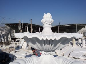 Garden Decoration Marble Sculpture Water Feature Stone Fountain pictures & photos