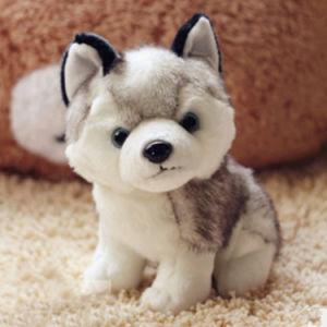 Children′s Birthday Gift Husky Doll Plush Toys