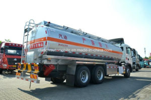 HOWO 20 T to 25 T Aluminum Alloy Tanker Truck 25000 L Fuel Tank Truck for Sale pictures & photos