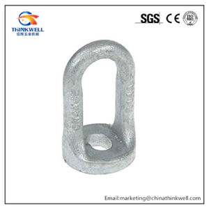 Hot DIP Galvanized Forged Steel Pole Line Oval Eye Eyelets pictures & photos