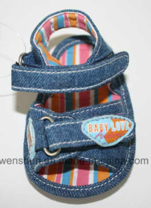 Jeans Baby Beach Shoes Ws1172 pictures & photos