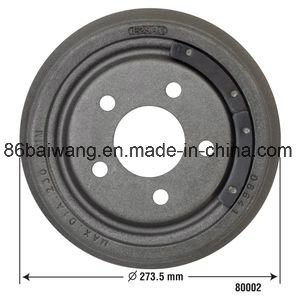 Discount Brake Drum D4fz2216b for Ford Series pictures & photos