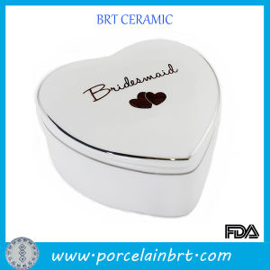 Ceramic Wedding Gift Box in Heart Shaped pictures & photos
