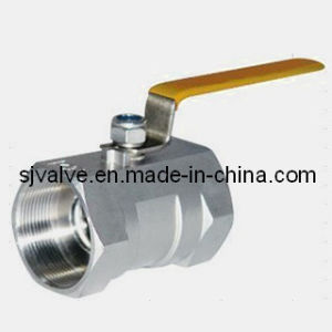 CE Stainless Steel 1 Piece Ball Valve pictures & photos