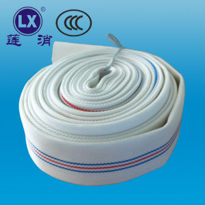 Anti-Abrasion Lined Colorful PVC Fire Control Hose pictures & photos