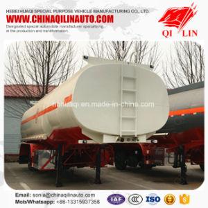 Qilin 3 Axles 35cbm Edible Oil Transport Tanker Semi Trailer pictures & photos