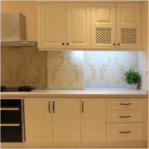 White PVC Kitchen Cabinets