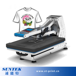 Ce Approved Drawer Type Hydraulic Tshirt Transfer Printing Machine pictures & photos