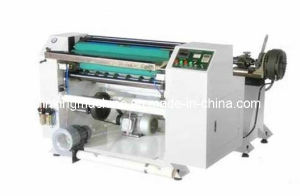 POS Cash Thermal Roll Paper Slitting Rewinding/Rewinder Machinery pictures & photos