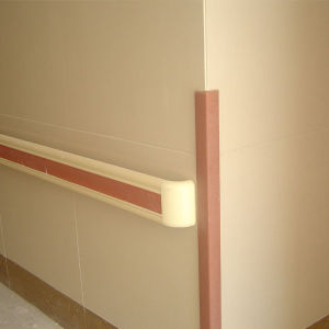 Wall Protection Vinyl Handrail with 140mm Width pictures & photos