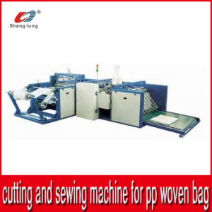 Auto Cutting and Bottom Sewing Machinery for PP Woven Fabric Roll Bag pictures & photos