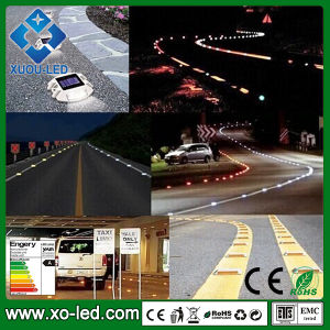 Hot Selling Solar Lights 6LEDs 1000meter Visible Distance Di-Casting Body Solar Road Stud 100hrs Working Time Outdoor Solar Lighting