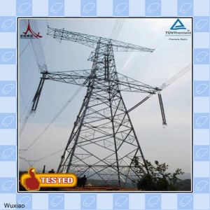 Single Circuit and Double Circuit Electric Steel Tower pictures & photos