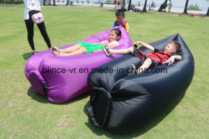 Fast Inflatable Sleep Bag 10 Seconds Quick Open Lazy Sleeping Bed pictures & photos