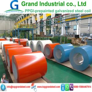 High Quality Prime PPGI Prepainted Galvanized Steel Coil in China pictures & photos