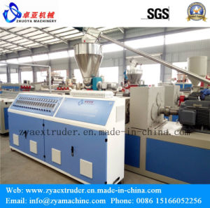 WPC Wood Plastic Door Panel Profile Making Machine/Production Line (1000mm) pictures & photos