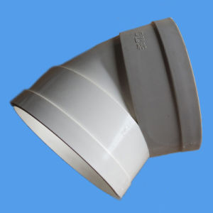 Elbow 45 Deg PVC Fitting for Drain, Waste, Vent Asnzs 1260 pictures & photos