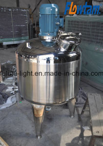Stainless Steel High Shear Emulsifying Tank with Top Emulsifier pictures & photos