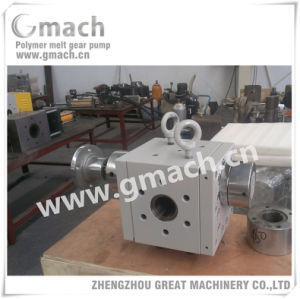 Gmach Melt Pump for Plastic Extruder pictures & photos