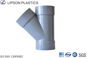 JIS Y Branch PVC Fitting pictures & photos
