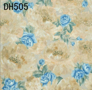 Fashion Deep Embossed Vinyl Wall Paper Dh501 pictures & photos