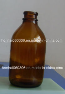 250ml USP Type II Amber Glass Infusion Bottle, Pharmaceutical Glass Bottle pictures & photos