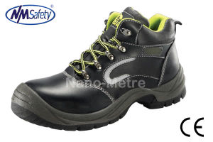 Nmsafety Fashion Smooth Leather Safety Shoes for Europe pictures & photos