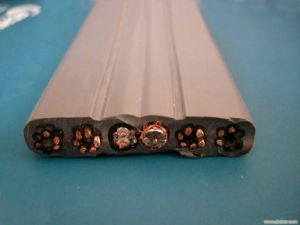 Flat Flexible Elevator Cable 24X0.75+2X2px0.75 pictures & photos