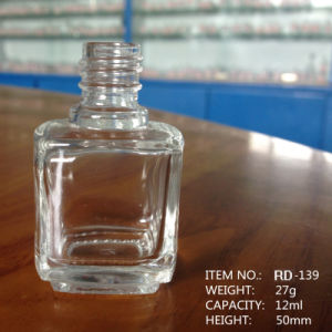 12ml Square Flint Nail Polish Glass Bottle pictures & photos