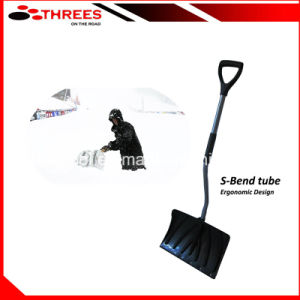 Curved Handle Plastic Snow Shovel (1507153) pictures & photos